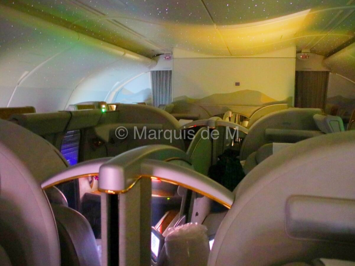 エミレーツ A380 Emirates seat 座席