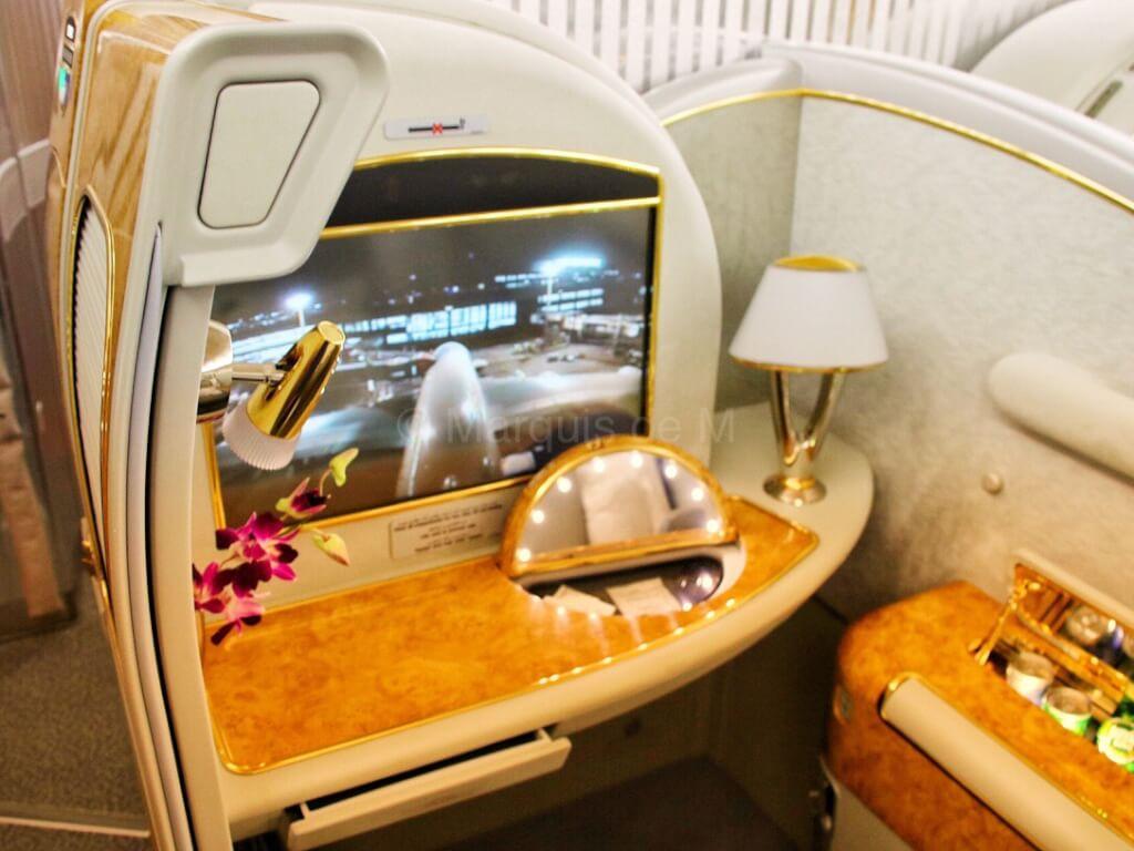 エミレーツ 成田 A380 座席 seat Emirates Narita Dubai NRT-DXB