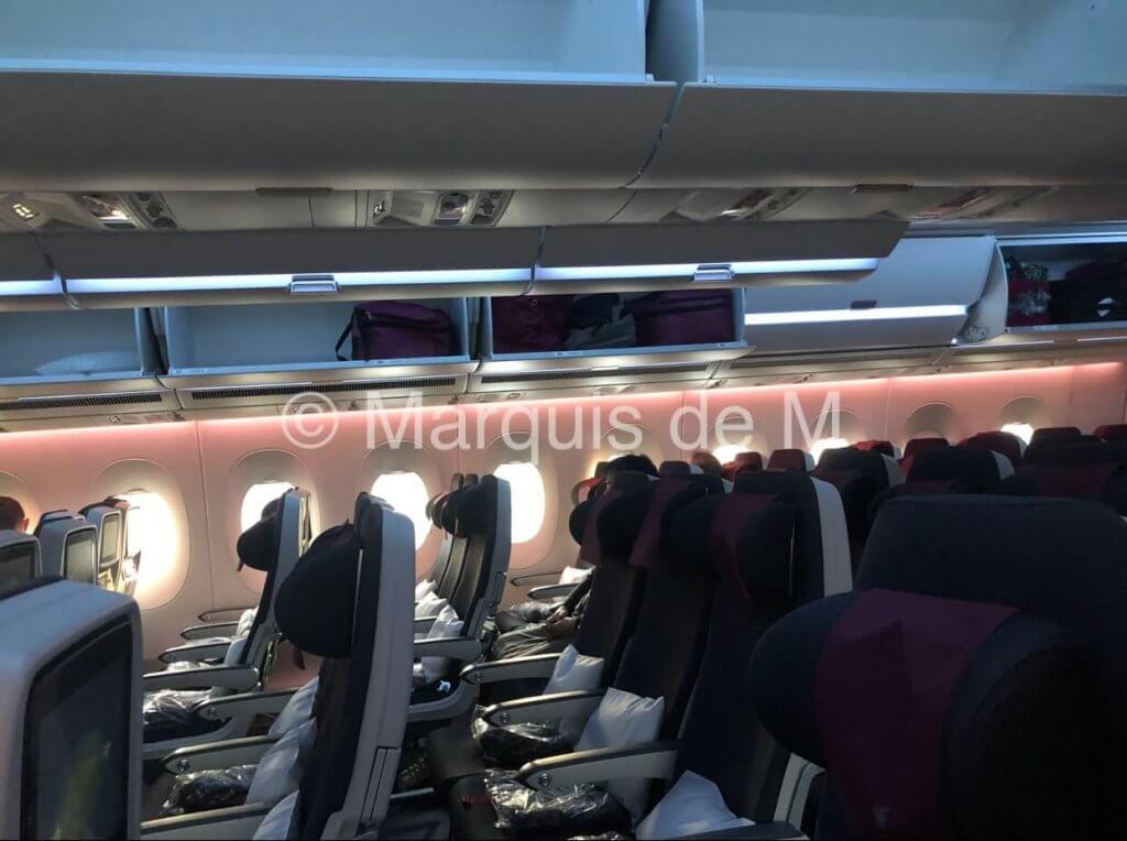 Qatar A350-900 JAL 初便 A350 カタール航空